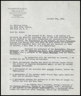 Image for Other documentation - M. Knoedler & Co., 1950-1953