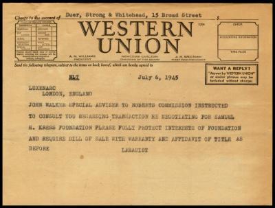 Image for M. Knoedler & Co., February 1, 1946