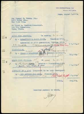Image for Contini Bonacossi, Alessandro, August 5, 1930
