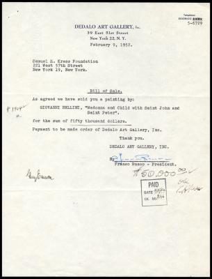 Image for Dedalo Art Gallery, February 9, 1952