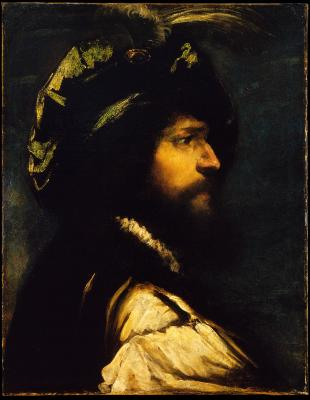 Image for Portrait in Profile of a Bearded Man