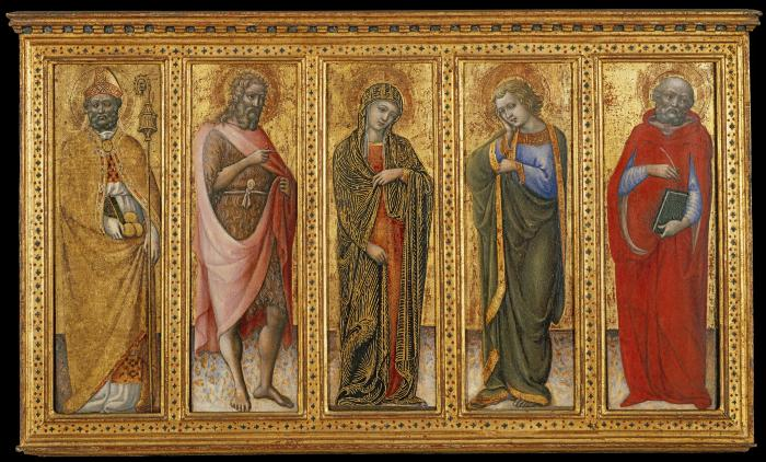 Image for The Virgin and Four Saints