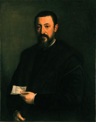 Image for Portrait of a Friend of Titian (Marco Mantova Benevides)