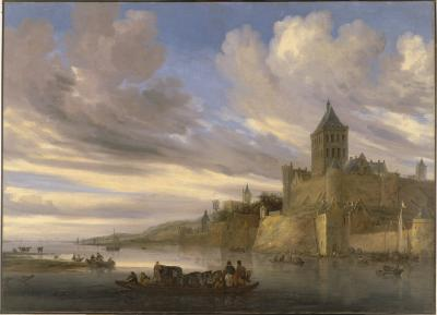Image for River View of the Nijmegen with the Valkhof