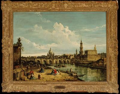 Image for View of Dresden From the Right Side of the Elbe