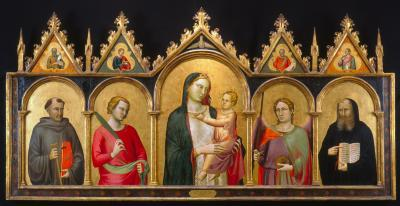 Image for Madonna and Child with Saints; Prophets (Pinnacles)
