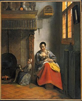 Image for Woman with Children in an Interior