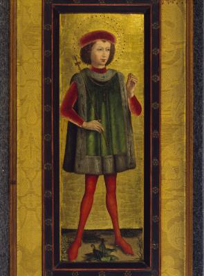 Image for Royal Saint with Ring (Saint Oswald?)