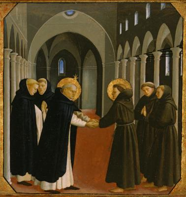 Image for The Meeting of Saint Dominic and Saint Francis of Assisi