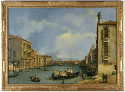 Image for The Grand Canal from the Campo San Vio