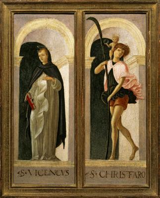 Image for Saint Vincent Ferrer, Saint Christopher
