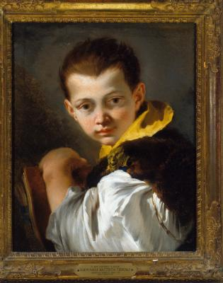 Image for Boy Holding a Book (Portrait of Lorenzo Tiepolo)