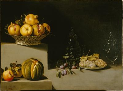 Image for Still Life with Fruit and Glassware