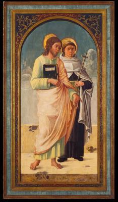 Image for Saint Luke and Saint Albert of Sicily