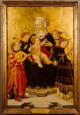 Image for Madonna and Child with Four Angels