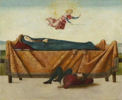 Image for The Miracle of the Catafalque (panel B)