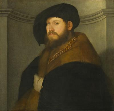Image for Portrait of a Gentleman Wearing a Gold Chain