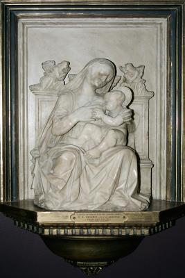 Image for Virgin Enthroned Nursing Infant Jesus