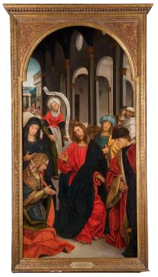 Image for Christ in the House of Martha and Mary Magdalene