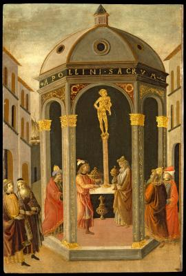 Image for The Treasure of the Temple at Jerusalem Brought by Nebuchadnezzar to the House of God