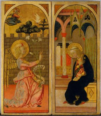 Image for The Annunciation [Right panel]