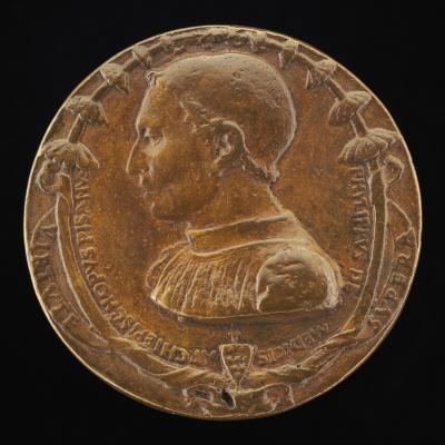 Image for Filippo de' Medici, Archbishop of Pisa, 1462-1474 [obverse]; The Last Judgment [reverse]