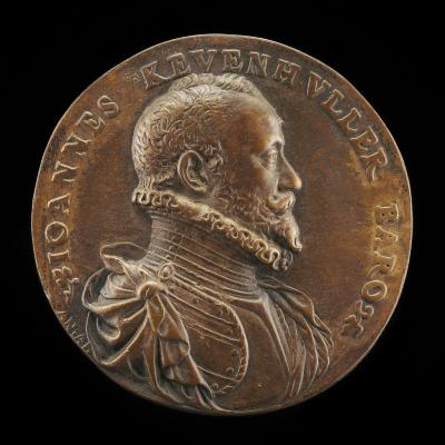 Image for Baron Johann von Khevenhüller, 1537/1538-1606 [obverse]; Minerva, Hercules, and Vice [reverse]