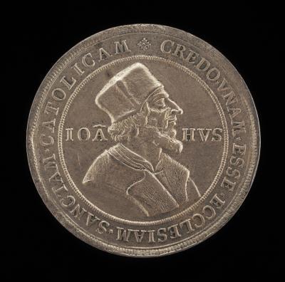 Image for John Huss Centenary Medal [obverse]; John Huss Centenary Medal [reverse]