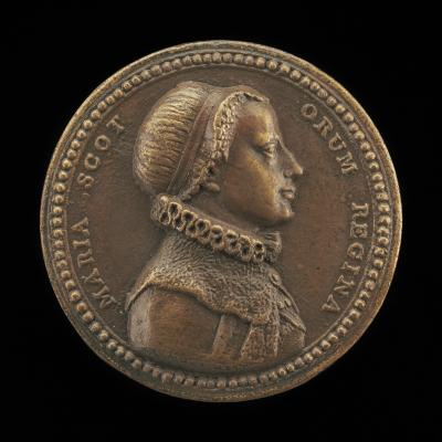 Image for Mary Stuart, 1542-1587, Queen of Scots [obverse]; Inscription [reverse]