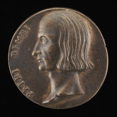 Image for Pietro Bembo, 1470-1547, Cardinal 1538 [obverse]; Bembo beside a Stream [reverse]