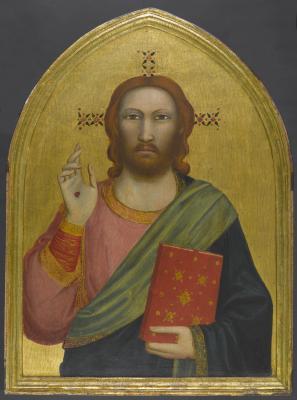 Image for Peruzzi Altarpiece: Christ Blessing
