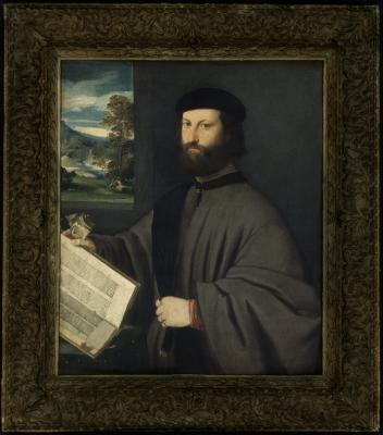 Image for Portrait of a Man with a Book