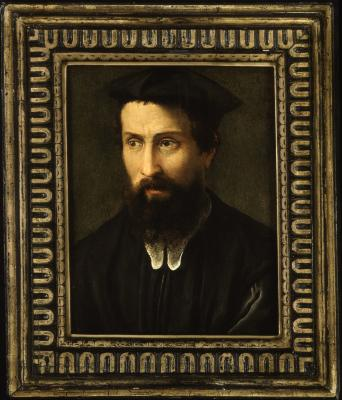 Image for Portrait of a Man with a Black Cap