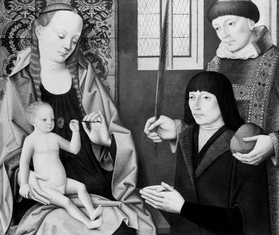 Image for Madonna, Child, and Donor