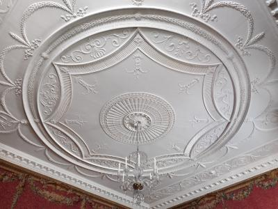 Image for Woodwork and ceiling from the Tapestry Room from Croome Court