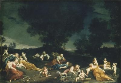 Image for Cupids Disarming Sleeping Nymphs