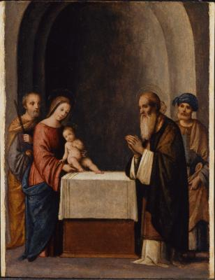 Image for The Presentation in the Temple