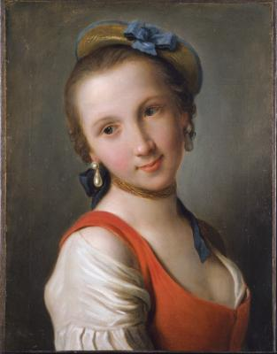 Image for Girl in a Red Dress, A