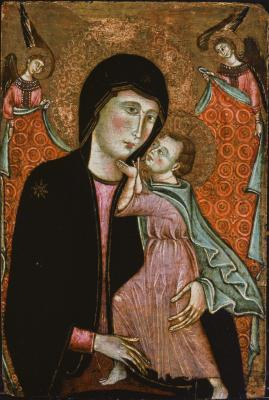 Image for Virgin and Child with Two Angels