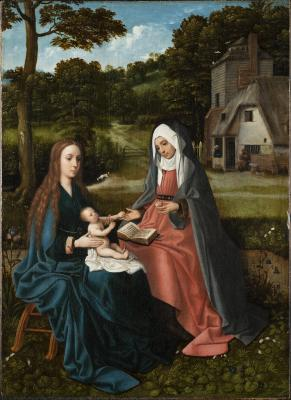 Image for Madonna and Child with Saint Anne