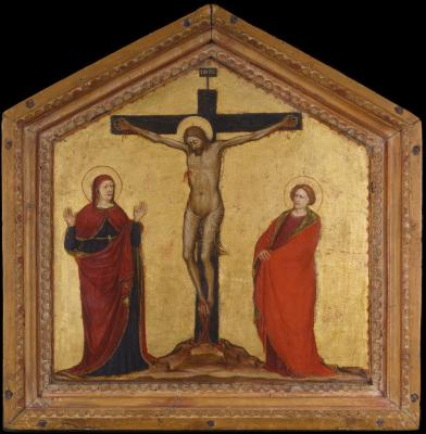 Image for Christ on the Cross between the Virgin and Saint John the Evangelist