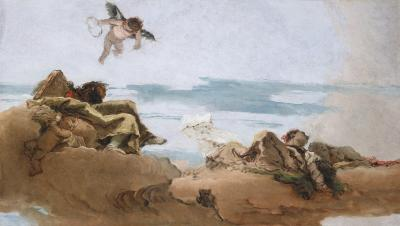 Image for Study for a Ceiling with the Personification of Counsel